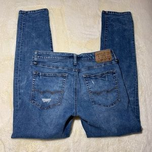 American Eagle Outfitters Jeans - American Eagle Distressed Slim Extreme Flex Jeans
